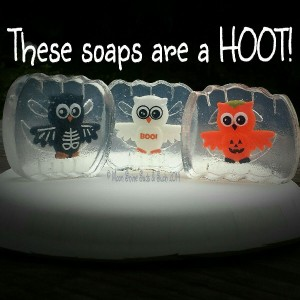 Halloween soap from Moon Shine Suds & Such