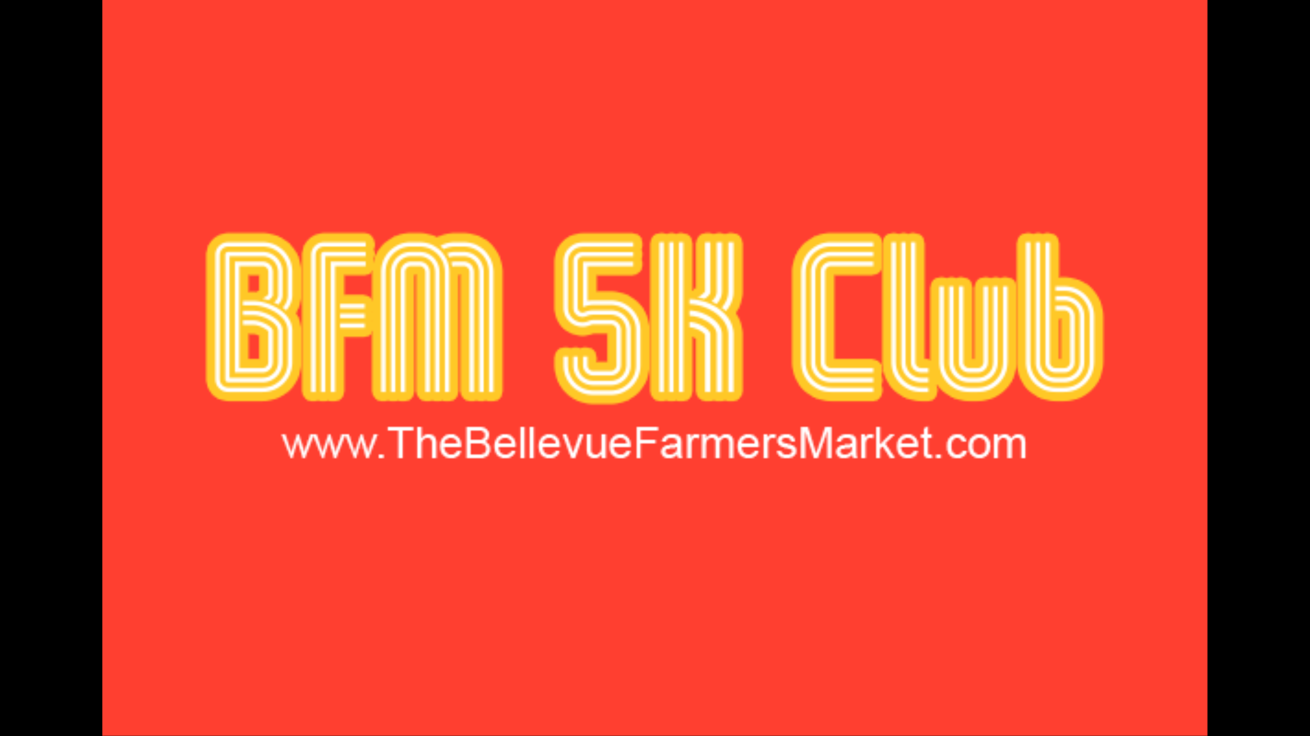 The Bellevue Farmers Market 5K Club